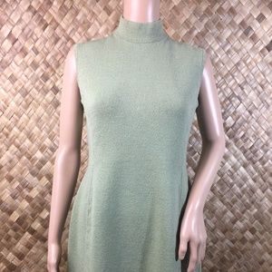 St John Collection Sz 6 Sleeveless Green Santana